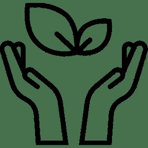 Pictogramme symbolisant l'alimentation à l'Usine Végétale