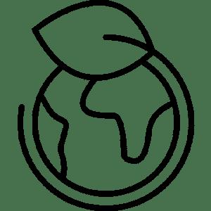 Pictogramme symbolisant le développement durable à l'Usine Végétale